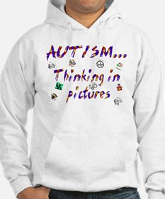 Thinking in pictures.png Hoodie
