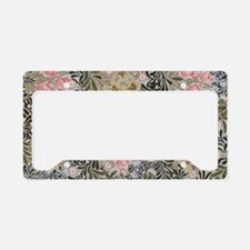 William Morris Bower Design License Plate Holder