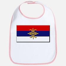 Flag of Serbian Cross Bib