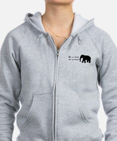 Be A Voice for Animals Zip Hoodie