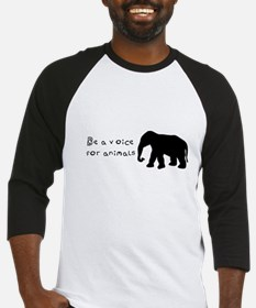 Be A Voice for Animals Baseball Jersey