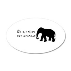 Be A Voice for Animals Wall Decal