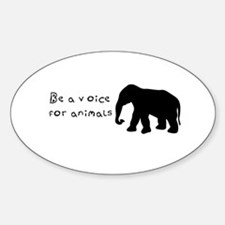 Be A Voice for Animals Decal