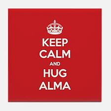 Hug Alma Tile Coaster