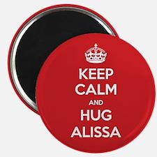 Hug Alissa Magnets