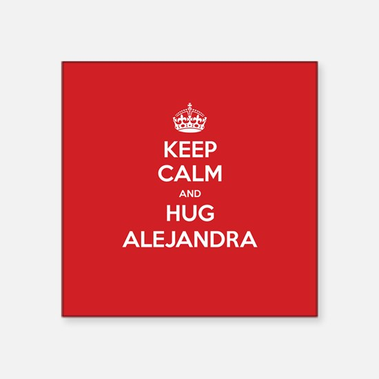 Hug Alejandra Sticker