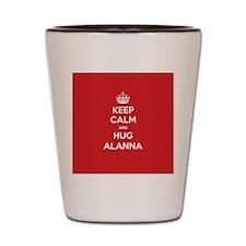 Hug Alanna Shot Glass