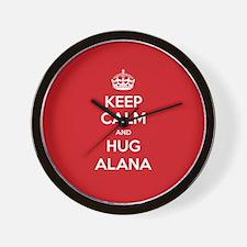 Hug Alana Wall Clock