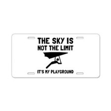 Hang Glide Playground Aluminum License Plate