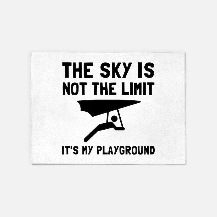 Hang Glide Playground 5'x7'Area Rug