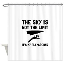 Hang Glide Playground Shower Curtain