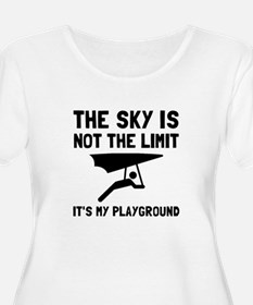 Hang Glide Playground Plus Size T-Shirt
