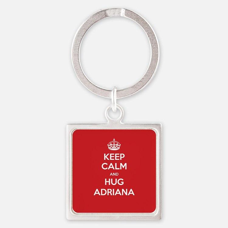 Hug Adriana Keychains