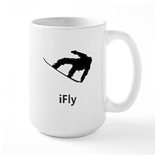 IFly Snowboarder Mugs