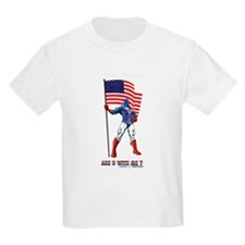 Kids T-Shirt-Are you with me?