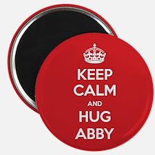 Hug Abby Magnets
