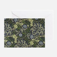 William Morris Seaweed Greeting Card