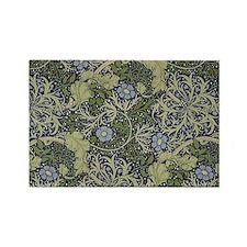 William Morris Seaweed Rectangle Magnet