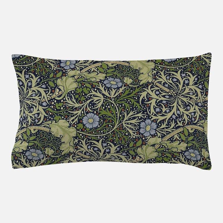 William Morris Seaweed Pillow Case