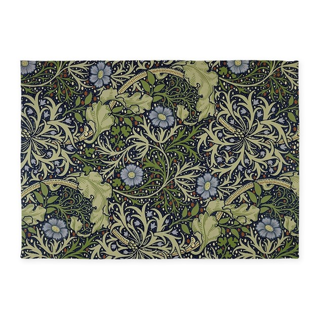 William Morris Seaweed 5'x7'Area Rug By Listing-store-2007436