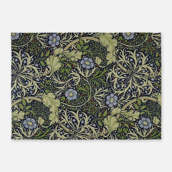 William Morris Seaweed 5'x7'Area Rug