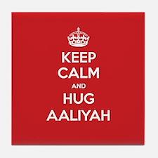 Hug Aaliyah Tile Coaster