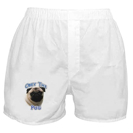 Pug Obey Boxer Shorts