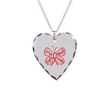 Epidermolysis Bullosa Necklace Heart Charm