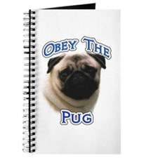 Pug Obey Journal