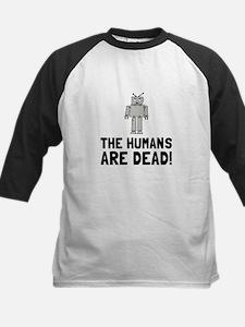 Robot Humans Dead Baseball Jersey