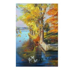 Colorful autumn on the la Postcards (Package of 8)