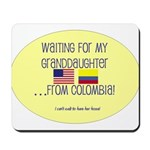 Waiting For My Granddaughter. Mousepad