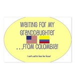Waiting For My Granddaughter. Postcards (Package o