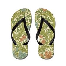 William Morris Iris Flip Flops