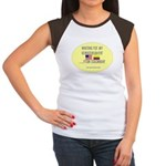 Waiting For My Granddaughter. Women's Cap Sleeve T
