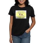 Waiting For My Granddaughter. Women's Dark T-Shirt
