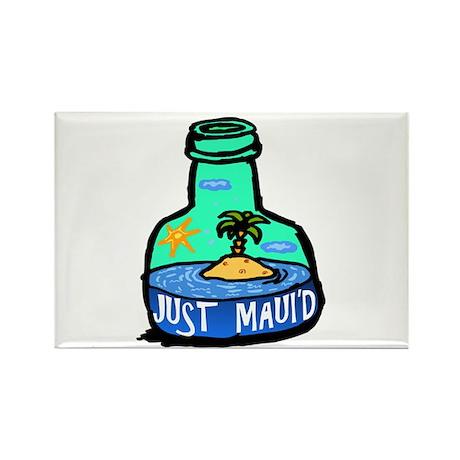 Just Maui'd Bottle Rectangle Magnet (10 pack)