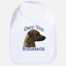 Ridgeback Obey Bib