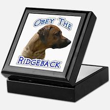Ridgeback Obey Keepsake Box