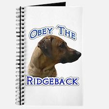 Ridgeback Obey Journal
