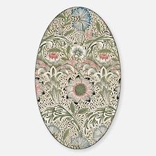 William Morris Corncockle Sticker (Oval)