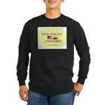 Waiting For My Child...From C Long Sleeve Dark T-S