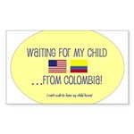 Waiting For My Child...From C Sticker (Rectangular