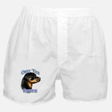 Rottweiler Obey Boxer Shorts