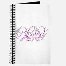 Blessed fuchsia flourish Journal