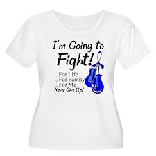 Fight Dysautonomia Gloves Plus Size T-Shirt