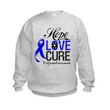 Hope Love Cure Dysautonomia Sweatshirt