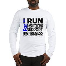 Run Awareness Dysautonomia Long Sleeve T-Shirt