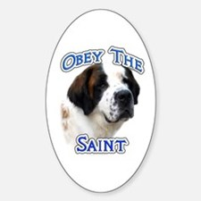 Saint Obey Oval Decal
