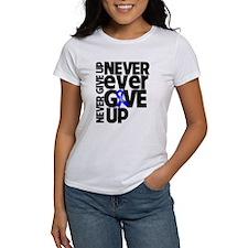 Never Give Up Dysautonomia T-Shirt